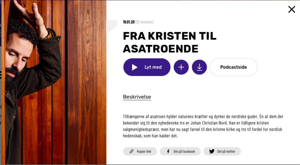 Isam B Johan Chr. Nord asatro